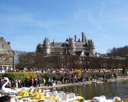 L'Embarcadère Pierrefonds - Pierrefonds - Vue imprenable sur le château de Pierrefonds